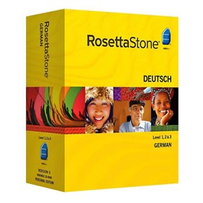 Rosetta Stone German Level 1, 2, 3, 4, 5 Set Key