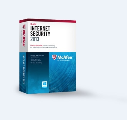 McAfee Internet Security 2013 (3PCs-2Year) Key